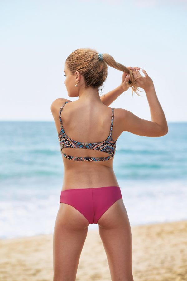 Bikini Beach Bum rosa tribal
