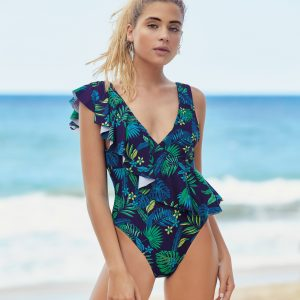 Off Shore One piece azul