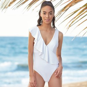 Off shore one piece blanco